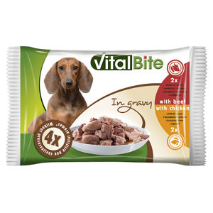 VitalBite dusené filetky mix 4x85g