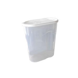 Dóza na sypké potraviny s odmerkou 5,8 l biela