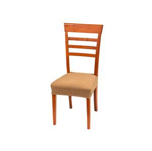 Poťah na sedák stoličky Mozaika hnedá