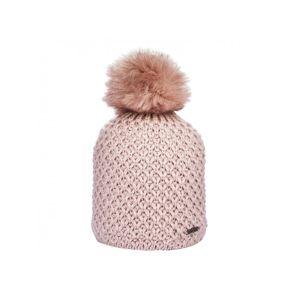 Zimná pletená čiapka s podšívkou a brmbolcom